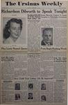The Ursinus Weekly, February 14, 1949