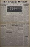 The Ursinus Weekly, April 25, 1949