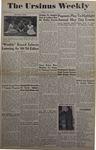 The Ursinus Weekly, May 9, 1949 by Betty Leeming, Dorothy Garris, Donald Stauffer, Steve Arvanitis, Nelson M. Fellman Jr., George Saurman, Frank Edwards, Carolyn Herber, Fred Nicholls, Nancy Bare, and Walter Rohlfs