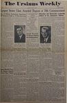The Ursinus Weekly, May 31, 1948