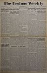 The Ursinus Weekly, October 21, 1946