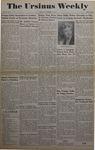 The Ursinus Weekly, November 4, 1946