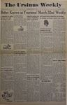 The Ursinus Weekly, March 31, 1947