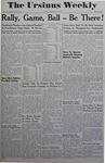 The Ursinus Weekly, September 15, 1944