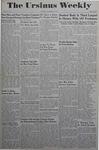 The Ursinus Weekly, November 6, 1944