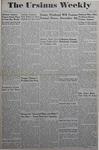 The Ursinus Weekly, November 13, 1944 by Joy Harter, Marian Bell, Helen McKee, Margaret Brunner, and Adele Kuntz