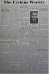 The Ursinus Weekly, November 20, 1944