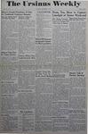 The Ursinus Weekly, December 4, 1944 by Joy Harter, Jane Day, Adele Kuntz, and Marian Martin