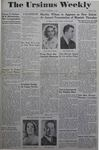 The Ursinus Weekly, December 11, 1944