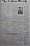 The Ursinus Weekly, December 18, 1944