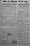 The Ursinus Weekly, January 8, 1945