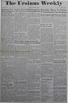 The Ursinus Weekly, January 15, 1945