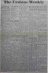 The Ursinus Weekly, January 22, 1945