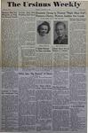 The Ursinus Weekly, February 5, 1945