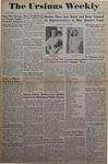The Ursinus Weekly, May 14, 1945 by Adele Kuntz
