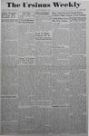 The Ursinus Weekly, October 18, 1943