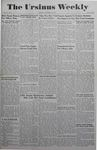 The Ursinus Weekly, November 22, 1943