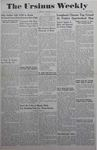 The Ursinus Weekly, February 7, 1944