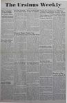 The Ursinus Weekly, March 6, 1944