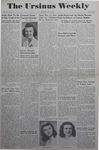 The Ursinus Weekly, May 15, 1944 by Marion Bright, Henry K. Haines, Betty Kirlin, and Irene Suflas
