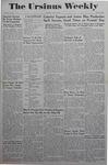The Ursinus Weekly, May 22, 1944 by Adele Kuntz, Joy Harter, Margaret Brunner, and Henry K. Haines