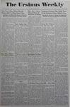 The Ursinus Weekly, June 5, 1944 by Adele Kuntz and Joy Harter