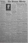 The Ursinus Weekly, November 9, 1942
