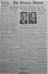 The Ursinus Weekly, November 23, 1942