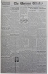 The Ursinus Weekly, February 1, 1943 by J. William Ditter Jr., Richard Wentzel, and Clark Moore