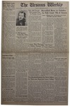The Ursinus Weekly, February 22, 1943 by J. William Ditter Jr.