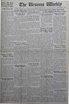 The Ursinus Weekly, March 15, 1943