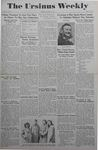 The Ursinus Weekly, April 26, 1943 by Marion Bright, Walter Hunt, Dean Evans, Eleanor Grubb, and Julia Ludwick