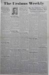 The Ursinus Weekly, May 3, 1943