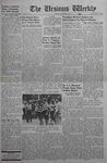 The Ursinus Weekly, October 6, 1941 by Denton Herber, Jim Raban, Bob Cooke, Franklyn Miller, Marion Byron, and Robert Ihrie