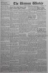The Ursinus Weekly, October 13, 1941