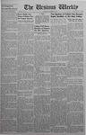 The Ursinus Weekly, November 10, 1941