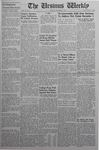 The Ursinus Weekly, November 17, 1941 by Denton Herber, Robert Ihrie, and Charles H. Miller