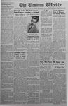 The Ursinus Weekly, November 24, 1941