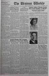 The Ursinus Weekly, December 15, 1941