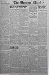 The Ursinus Weekly, February 16, 1942