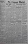 The Ursinus Weekly, July 13, 1942 by J. William Ditter Jr., Robert Ihrie, and Garfield Sieber Pancoast