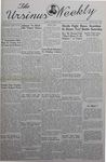 The Ursinus Weekly, October 7, 1940