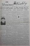 The Ursinus Weekly, October 14, 1940