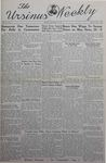 The Ursinus Weekly, October 21, 1940 by Nicholas Barry, Joseph D. Chapline Jr., and Norman E. McClure