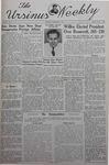 The Ursinus Weekly, November 4, 1940 by Nicholas Barry, Joyce Lownes, James Ziegler, Elwood Heller, Ethel Heinaman, and Denton Herber