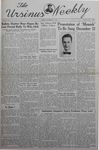 The Ursinus Weekly, November 11, 1940