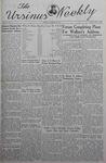 The Ursinus Weekly, November 18, 1940 by Nicholas Barry, Garnet Adams, Robert L. Cooke Jr., and Harry L. Showalter