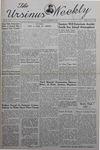 The Ursinus Weekly, November 25, 1940