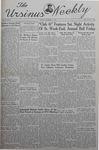 The Ursinus Weekly, December 2, 1940 by Nicholas Barry and Garnet Adams