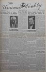 The Ursinus Weekly, February 10, 1941 by Nicholas Barry and Garnet Adams